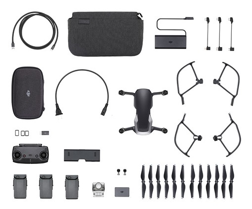 Фотография товара DJI MAVIC AIR FLY MORE COMBO BLACK